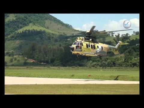Primeiro voo do EC725 brasileiro