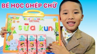 Be kem hoc ghep chu sua Kun