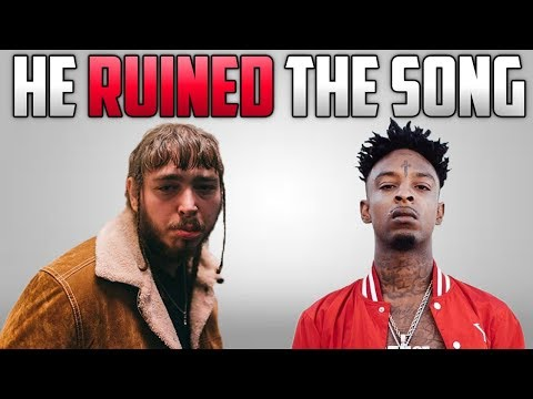 Did 21 Savage RUIN Rockstar By Post Malone?