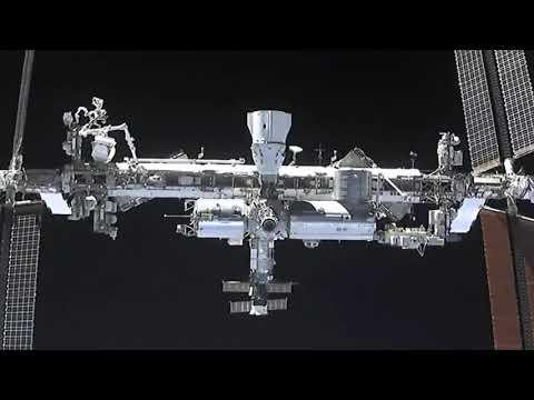 Acople de módulo en la Estación Espacial Internacional