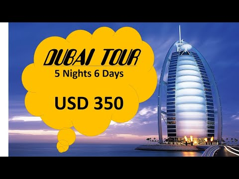 BUY BEST DUBAI TOUR 6 DAYS DIRECT FROM  HAMRA HOTEL | UAE TOUR PACKAGE