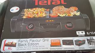 Tefal Family Flavour Grill Black Edition Izgara