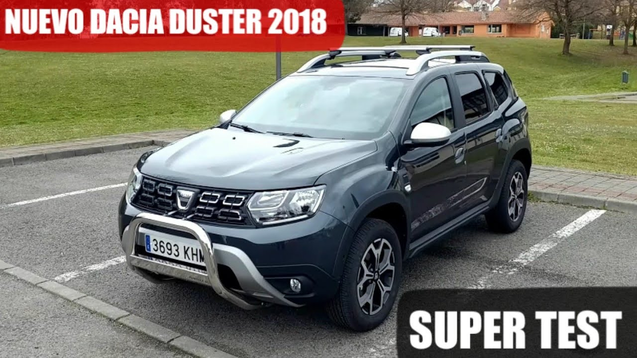 prueba nuevo dacia duster 2018 prestige tce 125cv 4x4 test general youtube. Black Bedroom Furniture Sets. Home Design Ideas