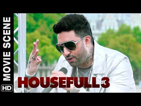 Ma Bhen rap  Abhishek Bachchan  Housefull 3  Movie Scene
