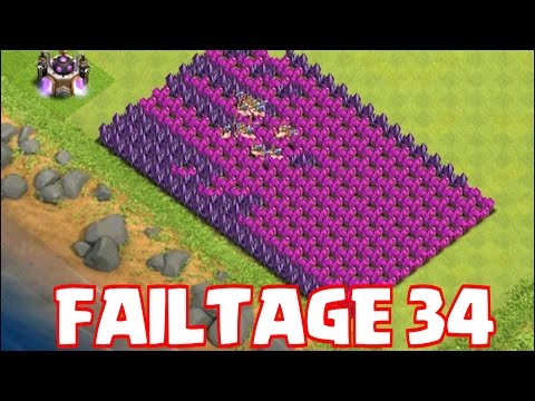 Clash Of Clans -FAILTAGE 34 (Fail like nobodies watching)