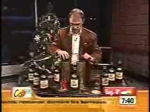 Magie avec des bouteilles