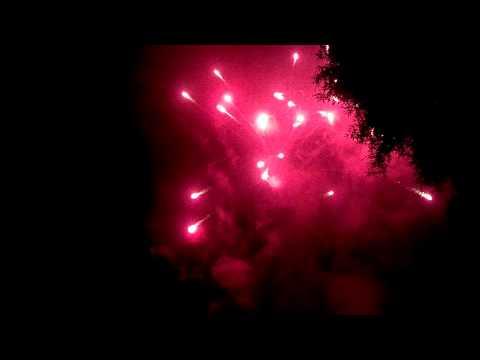 Monte Rio fire dept. Fireworks 2013