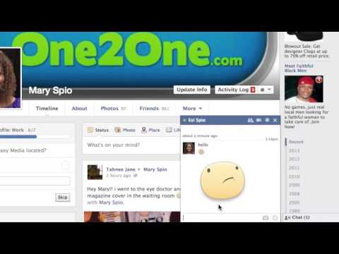 How To Make Symbols In Instant Messaging On Facebook : Facebook Tips