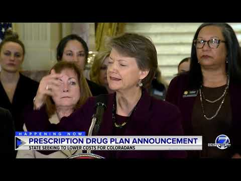 Announcement On Reducing Colorado Prescription Drug Costs
