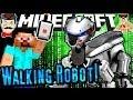 Minecraft WALKING ROBOT DOG - No Mods! Amazing Build!