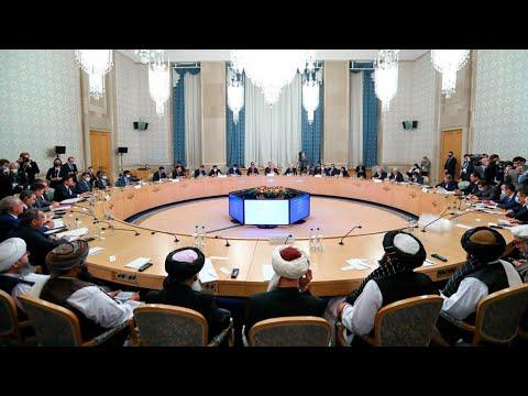 Download Talibanes piden reconocimiento internacional durante cumbre realizada en Rusia