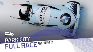 Park City | BMW IBSF World Cup 2017/2018 - Women's Bobsleigh Heat 2 | IBSF Official