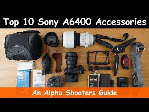 Best Sony A6400 Accessories & Deals - AlphaShooters com