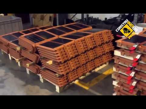 HOW THEY MAKE SOLAR TILES