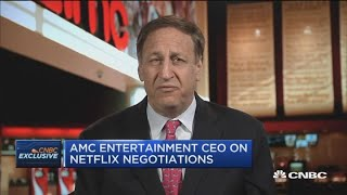 We couldn't get much of a serious proposal from Netflix: AMC CEO Aron