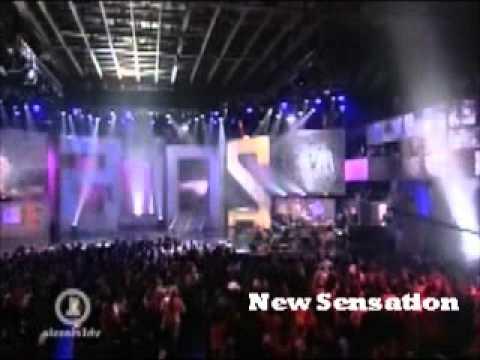 JD FORTUNE  INXS   New Sensation
