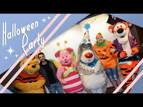 Halloween Party  Walt Disney World Vlog  Coronado Springs  October 2017  Adam Hattan & Gary C