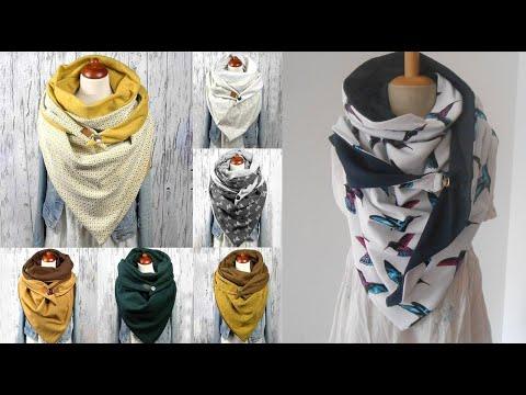 Шьем шарф снуд своими руками мастер класс