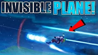 INVISIBLE PLANE GLITCH in Fortnite | How to turn Planes invisible - Fortnite season 7 glitch