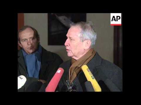 GERMANY: DUSSELDORF: TRIAL OF ALLEGED SPY MARKUS WOLF BEGINS