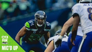 Bobby Wagner Mic'd Up Week 7 vs Ravens | Seahawks Saturday Night