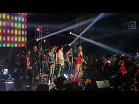 Hashtags at Only Maja Concert