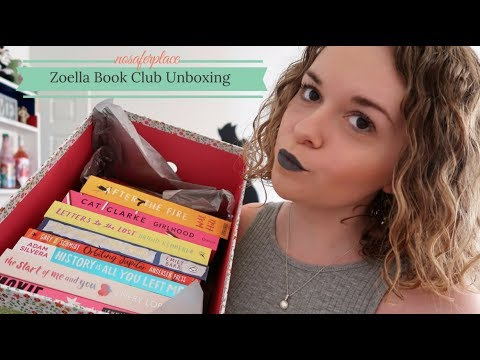 Zoella and Friends Book Club Unboxing
