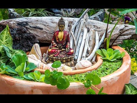 Petit jardin zen youtube Petit jardin zen