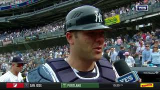 Austin Romine on the Yankees win and Sonny Gray