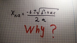 Roots of quadratic polynomial (proof)