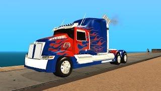 Ортимус Прайм из Трансформеров 4 для GTA San Andreas Трансформация