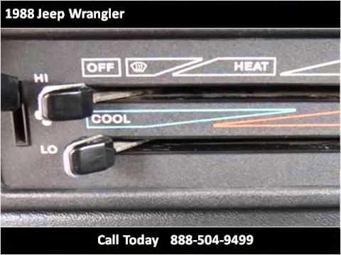 1988 jeep wrangler used cars hiram ga youtube for Elite motors inc hiram ga