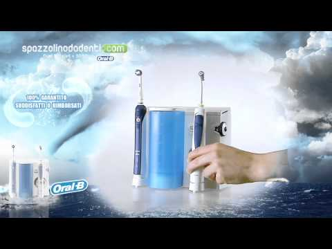 Oral B Braun Professional Care OxyJet Center 3000 idropulsore con spazzolino