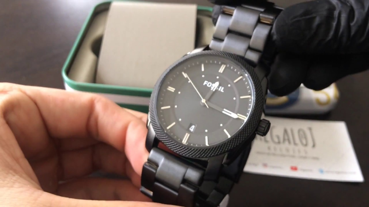 c49d4fcdd727 Reloj FOSSIL FS4775 - UNBOXING FOSSIL Watch FS4775 (Regaloj) - YouTube