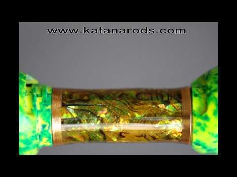 Katanarods - fuji SK-low riders-abalone spinning