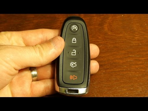 Ford Escape Key Fob Battery Replacement