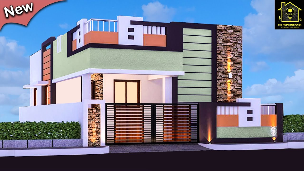 30 Small House Front Elevation Design Ground Floor Elevation Ideas Single Floor Youtube,Bedroom Cabinet Design With Dresser
