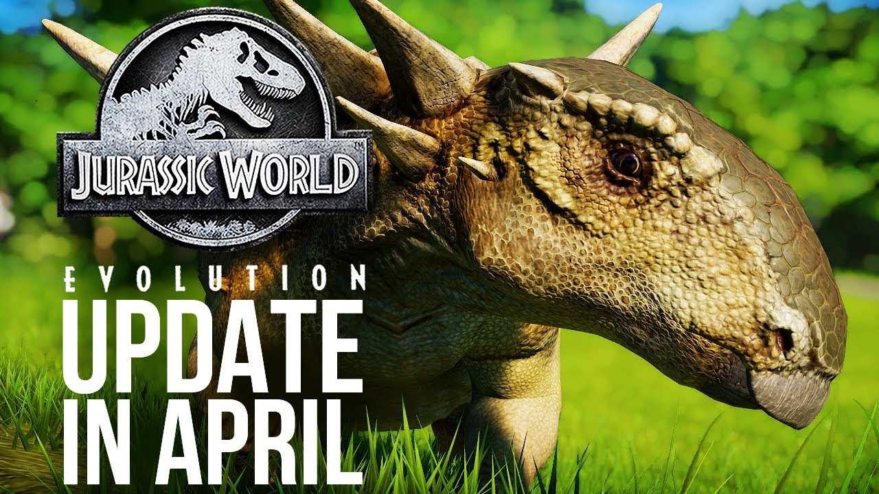 UPDATE COMING IN APRIL! And More DLC Afterwards? | Jurassic World