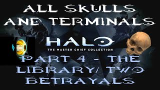 Halo: MCC All Skulls and Terminals for Levels 7 & 8 Part 4 - 1080p Halo CE Anniversary