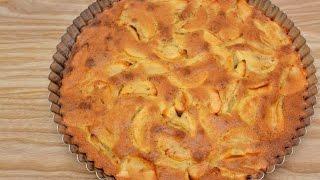 Простой русский яблочный пирог в духовке