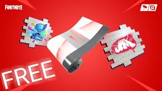 Free Rewards for watching YouTuba Fortnite