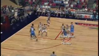 College Hoops 2k7 UCLA vs. Arizona Gameplay