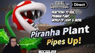 Super Smash Bros. Ultimate Nintendo Direct Reactions to Ken Masters, Piranha Plant & More - 11/1/18