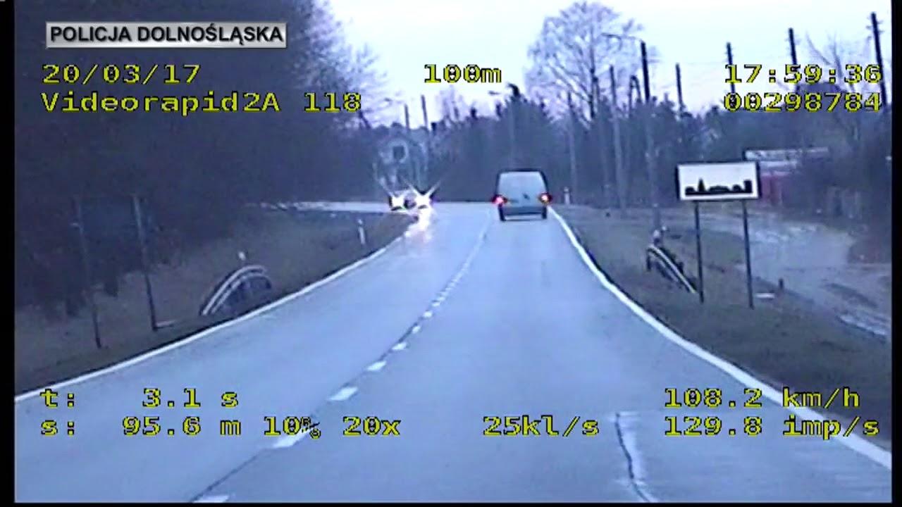 Oleśnica – materiał z policyjnego wideorejestatora