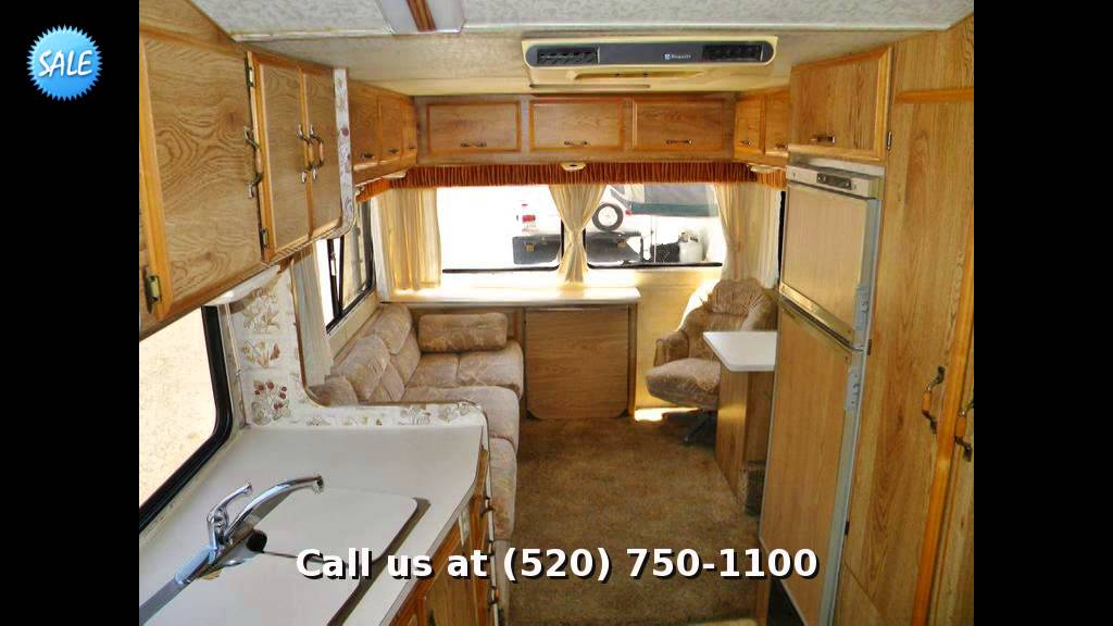 1985 Alpenlite 22' , Fifth Wheel Rear Living Room - YouTube
