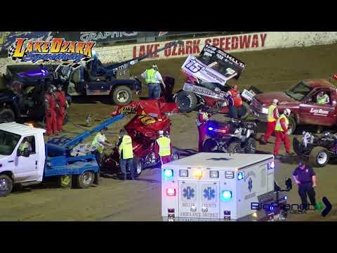 ASCS 360 Sprints Winged 5-26-19 Lake Ozark Speedway