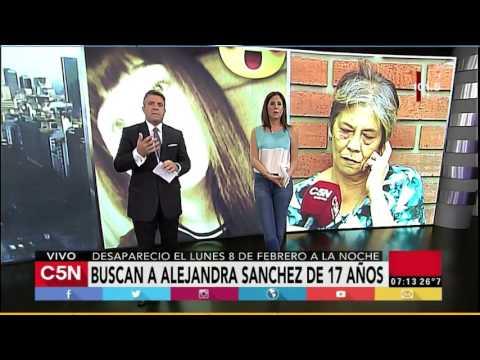 C5N - Sociedad: Habla la madre de Alejandra Sánchez (17), la joven desaparecida en Devoto