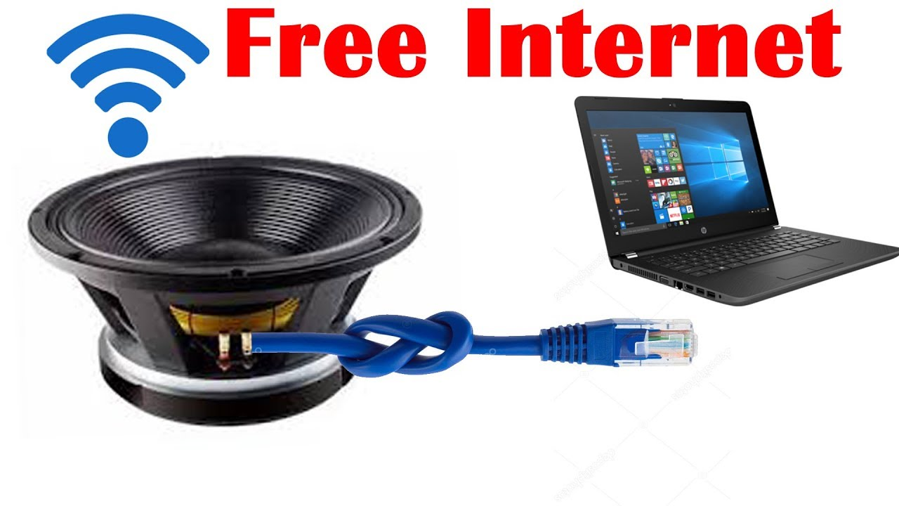 Make Free Internet for Laptop at Home