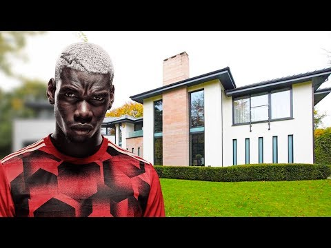 Paul Pogba House in Manchester (Interior & Exterior) Inside