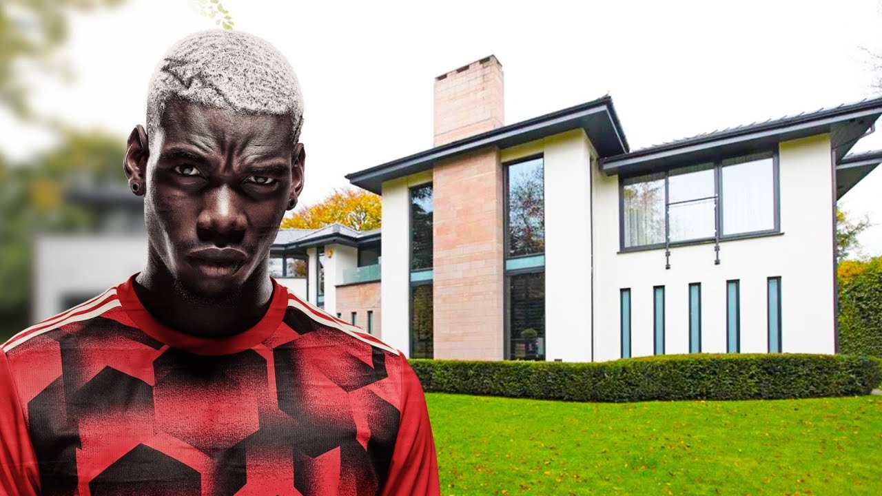 Paul Pogba House in Manchester Interior  Exterior Inside Tour  2018 NEW  YouTube